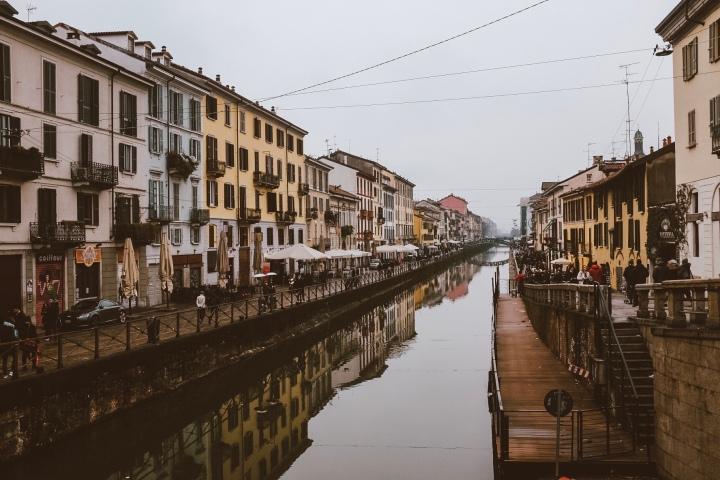 Wintertime in Milan